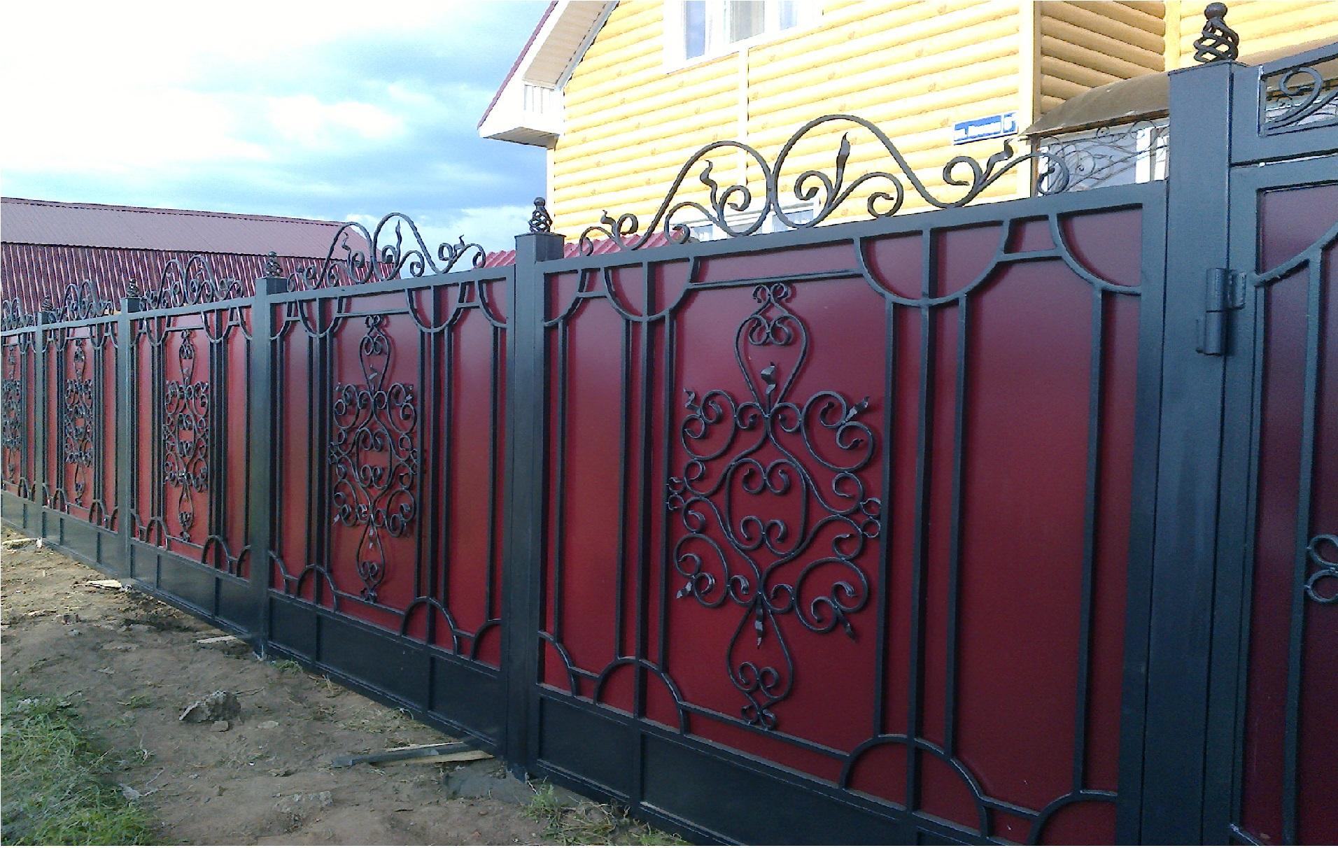 Решетчатый забор металлический заборы для дачи в тюмени
